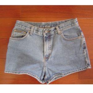 Vintage Calvin Klein Jean Shorts Leather Tag 9